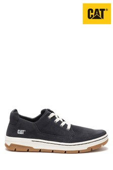 CAT Lifestyle Black Grayledge Lace Shoes