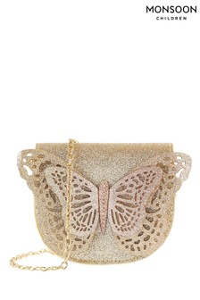 Monsoon Pink Ombre Butterfly Bag