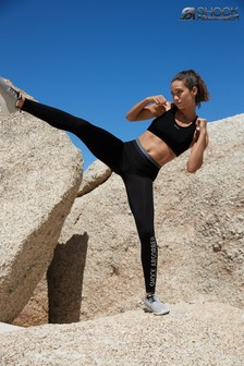 Shock Absorber Black Sports Leggings