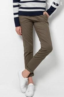 Spirit Green Chino Trousers