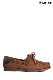 Ariat Brown Antigua Boat Shoes