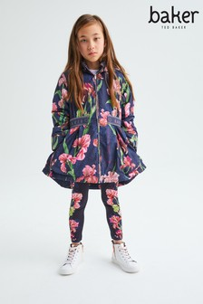 Baker by Ted Baker Navy Floral Mac