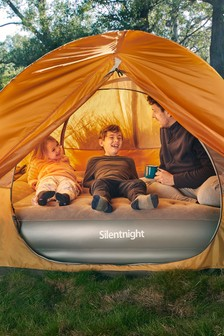Silentnight Camping Collection Flocked Airbed