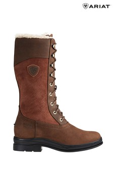 Ariat Brown Wythburn Waterproof Insulated Boots