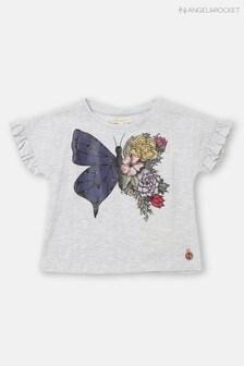 Angel & Rocket Butterfly Ruffle T-Shirt