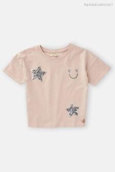 Angel & Rocket Boxy Blush T-Shirt