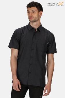 Regatta Grey Mindano V Quick Drying Shirt