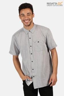 Regatta Grey Damari Short Sleeve Shirt