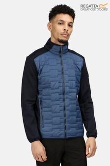 Regatta Blue Clumber Hybrid Baffle Jacket