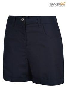Regatta Blue Pemma Cotton Shorts