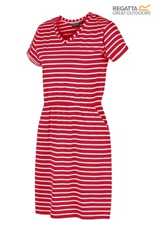Regatta Red Havilah Cotton Printed Jersey Dress