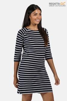 Regatta Blue Hatsy 3/4 Sleeve Jersey Dress