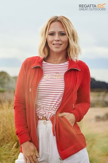Regatta Red Edlyn Full Zip Fleece
