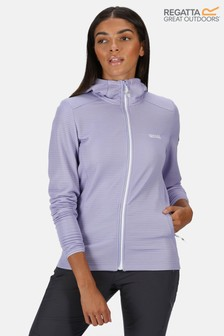 Regatta Purple Women's Terota Hooded Fleece