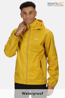 Regatta Yellow Lyle Iv Waterproof Shell Jacket