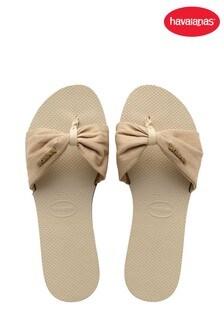 Havaianas Nude You St Tropez Shine Sandals