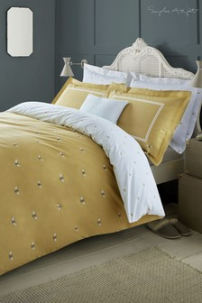 Sophie Allport Yellow Bees Duvet Cover and Pillowcase Set