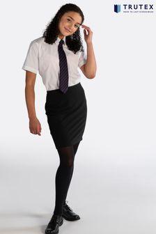 Trutex Black Pencil Skirt