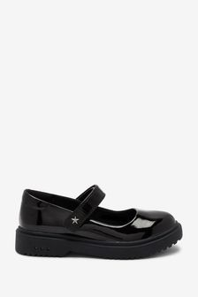Black Patent Light Up Mary Jane Shoes