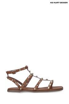 KG Kurt Geiger Natural Rubble2 Sandals