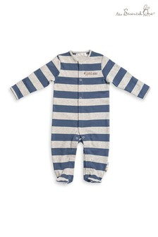 Baby Boys Handsome Bear Sleepsuits 3 Pack