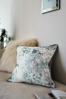 Grey Frost Printed Cushion