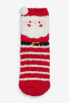 Father Christmas Christmas Cosy Socks In A Box