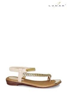 Lunar Beige Asia Sandals