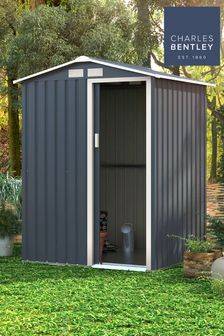 Metal Garden Storage Shed 4.9ft x 4.3ft By Charles Bentley