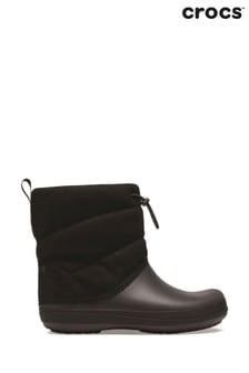 Crocs™ Black Crocband Puff Boots