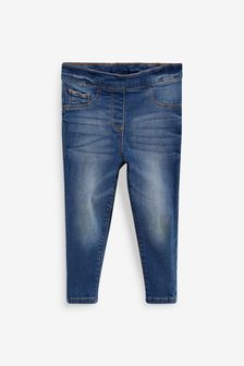 Mid Blue 1 Pack Jeggings (3mths-7yrs)