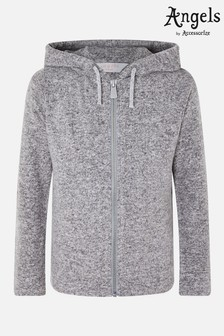 Angels By Accessorize Grey Marl Hoodie