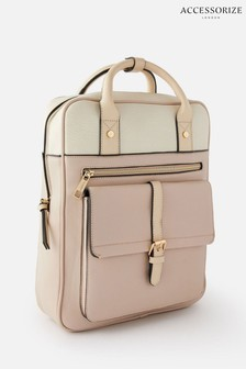 Accessorize Cream Harrie Backpack