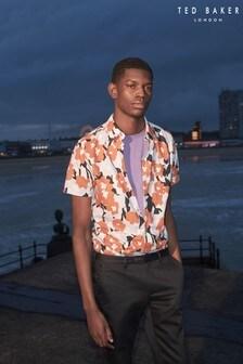 Ted Baker Awards Floral Seersucker Print Shirt