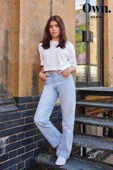 Bleach Own 90s Straight Jeans
