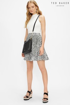 Ted Baker Yondia Pleat And Release Mockable Dress