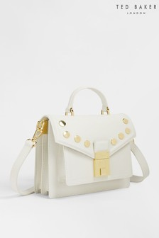 Ted Baker Kimmils Studded Luggage Lock Mini Satchel