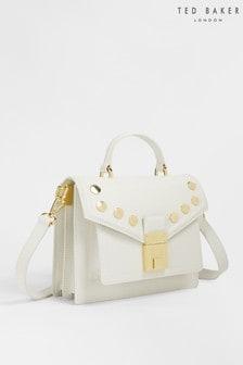 Ted Baker Kimmils Studded Luggage Lock Mini Satchel
