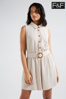 F&F Natural Playsuit