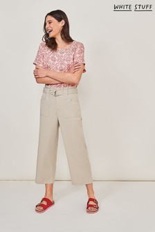 White Stuff Grey Teakie Trousers