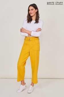 White Stuff Chartreuse Teakie Trousers