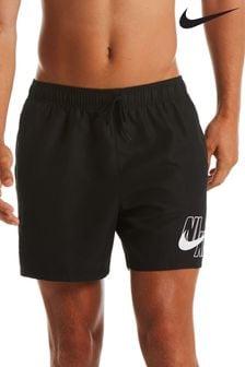 Nike Logo Lap 5 Inch Volley Swim Shorts