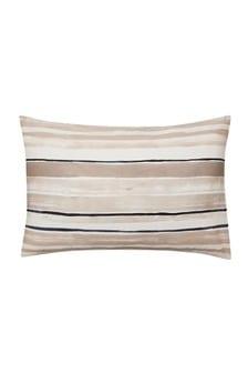 Set of 2 Himeya Cream Linking Lines Pillowcases