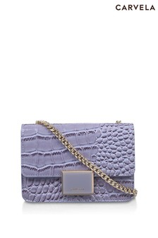 Carvela Blue Jessica Mini Cross Body Bag