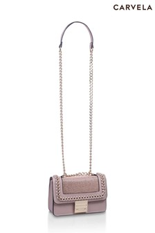 Carvela Bronze Mini Bailey Cross-Body Bag