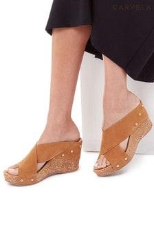 Carvela Comfort Natural Sooty Sandals