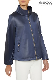 Geox Women's Gerbera Gothic Blue Jacket