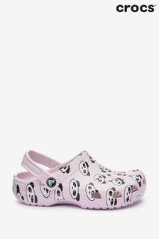 Crocs Pink Panda Classic Clog Sandals