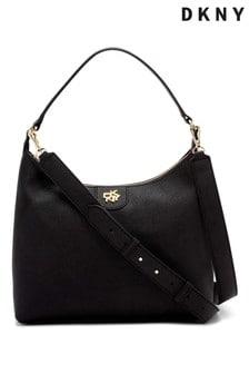 DKNY Black Carol Leather Bag