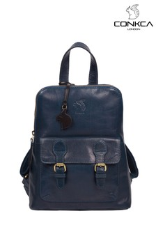 Conkca Kendal Leather Backpack
